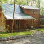 Peaceful Log Home in the woods at Sunday Rd, Hico, WV 25854, USA for 145000